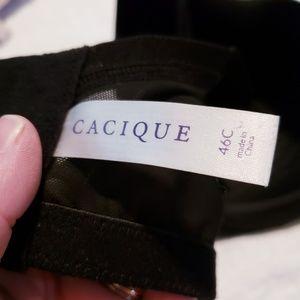 Cacique Intimates & Sleepwear - Cacique 46C Black Full Coverage Light Padded EUC